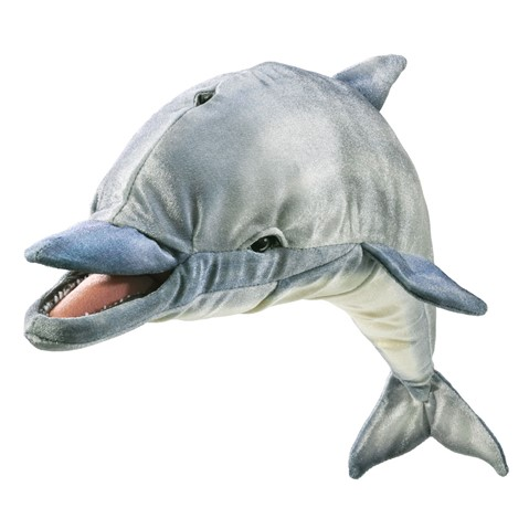 Whistling Dolphin Hand Puppet  |  Folkmanis