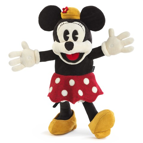 Disney Vintage Minnie Mouse Character Puppet  |  Folkmanis