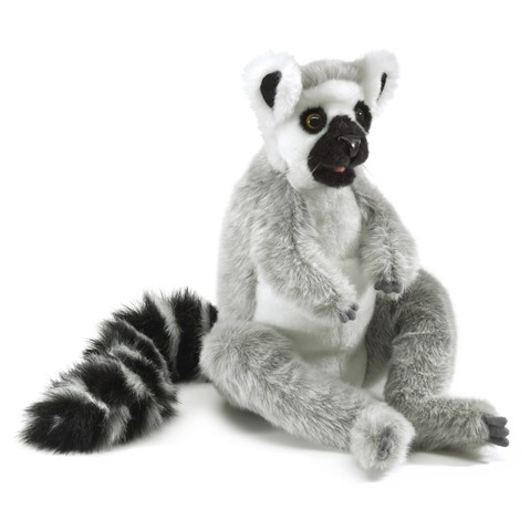 Ring-tailed Lemur Hand Puppet  |  Folkmanis