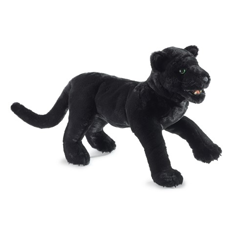 Black Panther Hand Puppet  |  Folkmanis