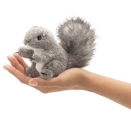 Mini Squirrel, Gray