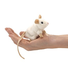 Mini White Mouse