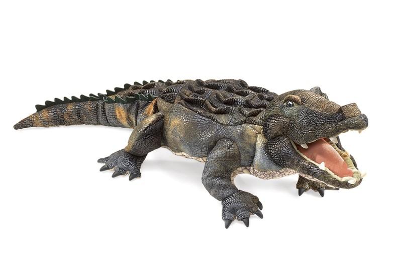 American Alligator Hand Puppet Folkmanis
