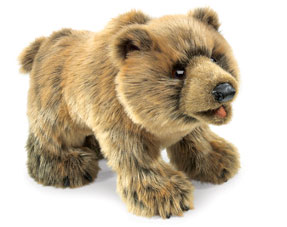 Short Hair plush – can be brushed with a wire pet brush to fluff up the plush but avoid the eyes ears and nose.